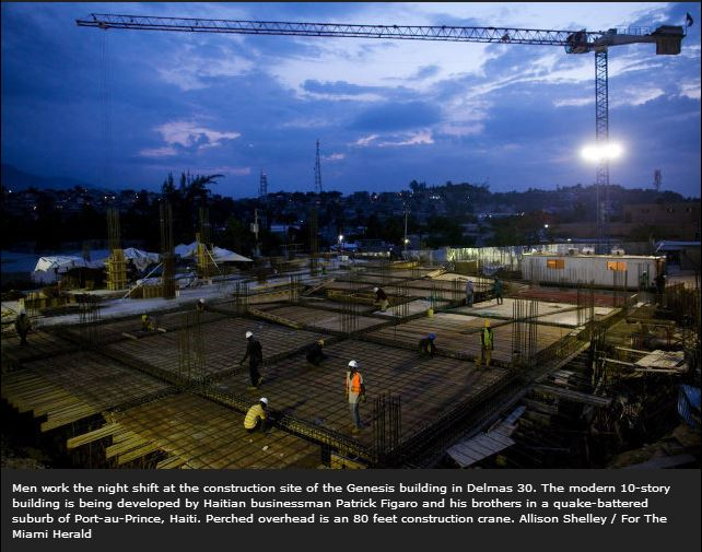 Vision Of A New Modern Haiti Rises From The Rubble